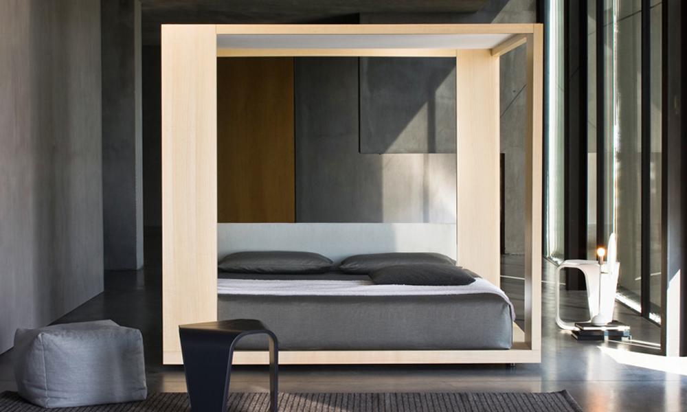 Temple Bed Cama Minimalista De Diseno Sueco - Cama-minimalista