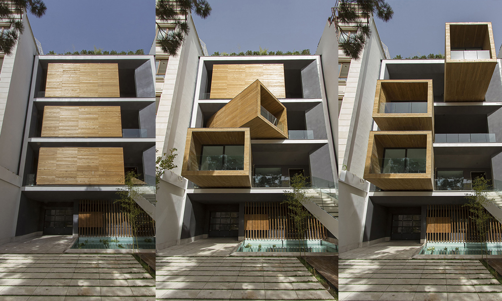 Casa Sharifi-ha / Nextoffice