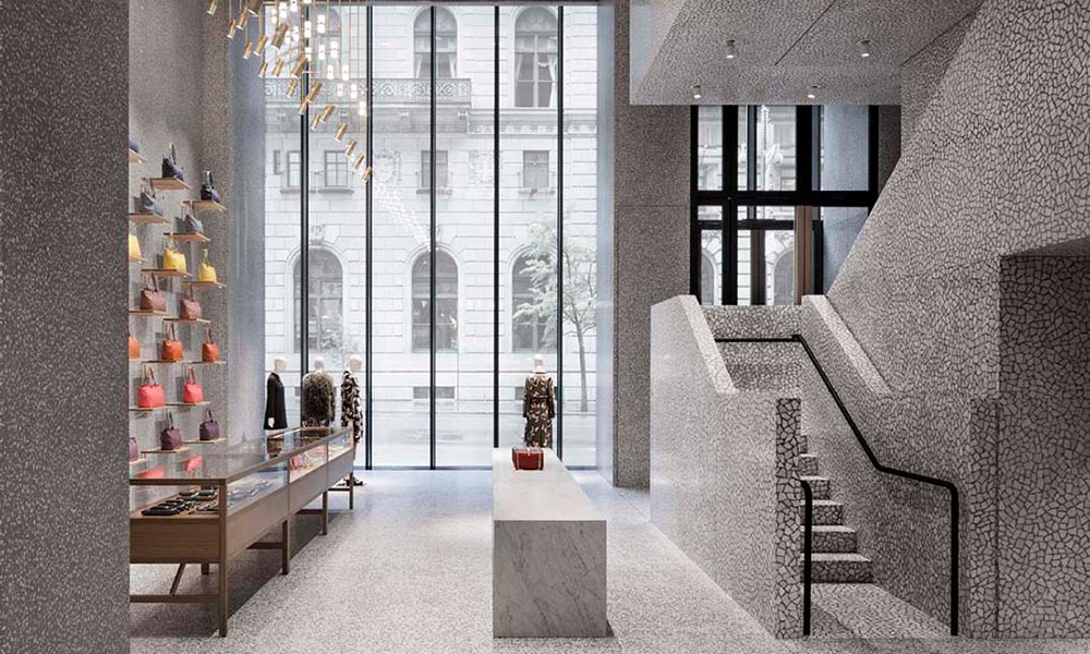Valentino New York Store David Chipperfield