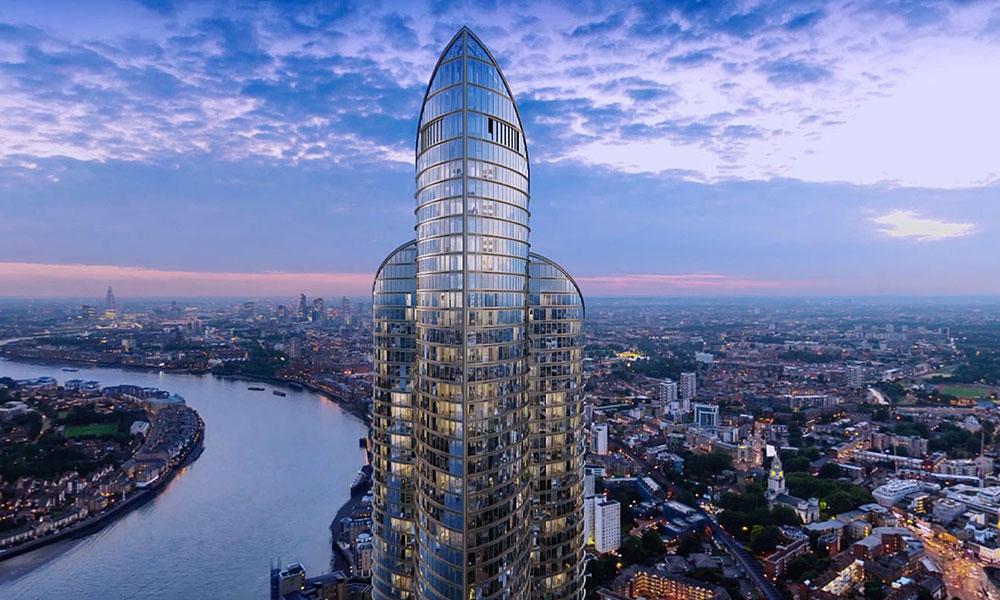 Londres Albergar 225 La Segunda Torre Residencial M 225 S Alta De