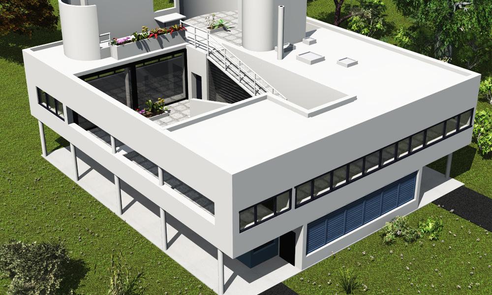 La Villa Savoye Lecorbusier De 1929