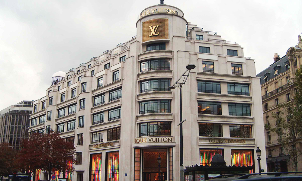 Louis Vuitton Paris Champs Elysées / Carbondale