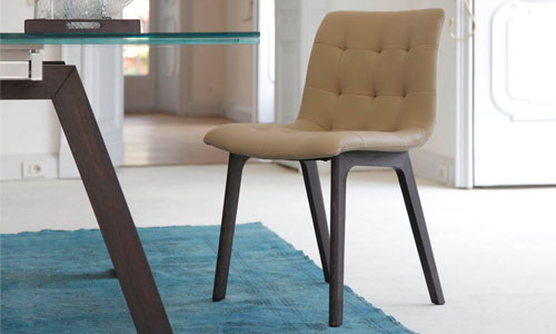 Kuga chair, The Best in design, Bontempi, marca, comedor - decoración