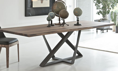 Pied de table design, The Best in design, Bontempi, marca, comedor - decoración