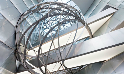 Deutsche Bank Sphere en Frankfurt, Alemania, The Best in design, Mario Bellini, diseñador