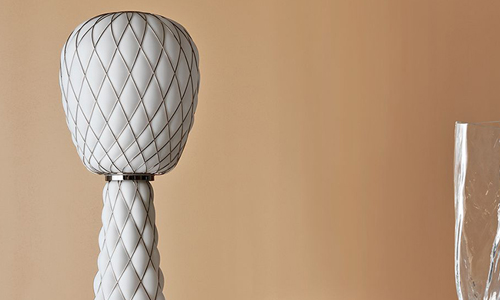PINECONE, Floor Lamp  transparente brillante