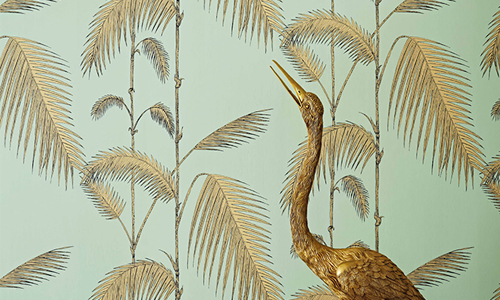 Palm Leaves Wallpaper de la colección Icons de Cole & Son