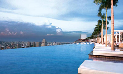 Piscina del Marina Bay Sands