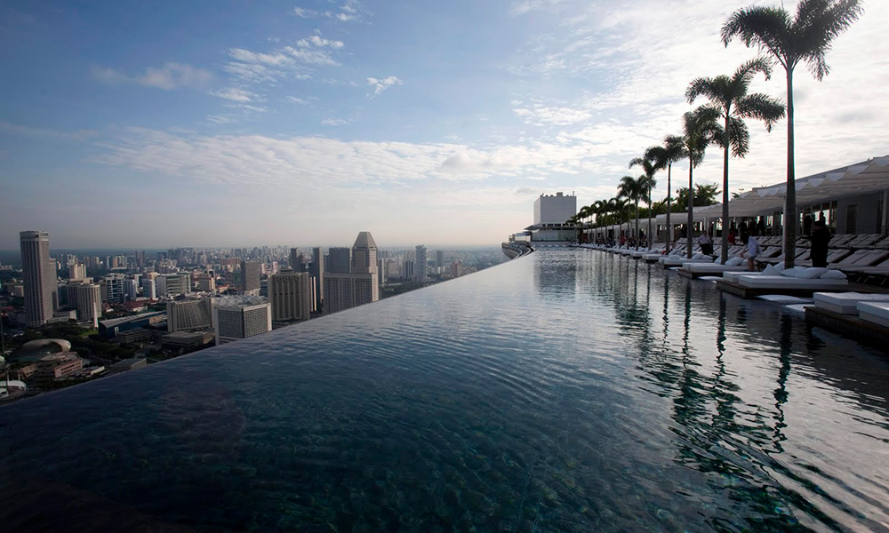 La Piscina del Marina Bay Sands