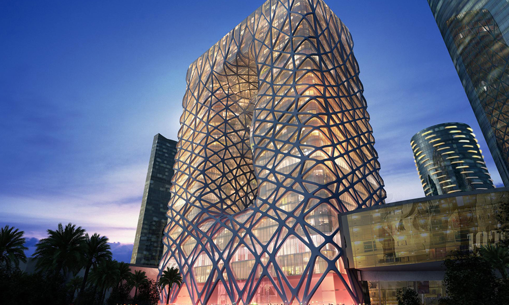 Hotel Morpheus by Zaha Hadid Architects