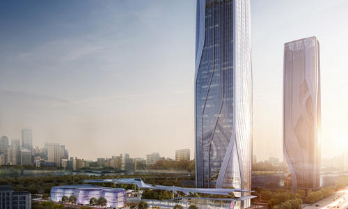 UM Architects diseñará 'City Gate' en Shanghai