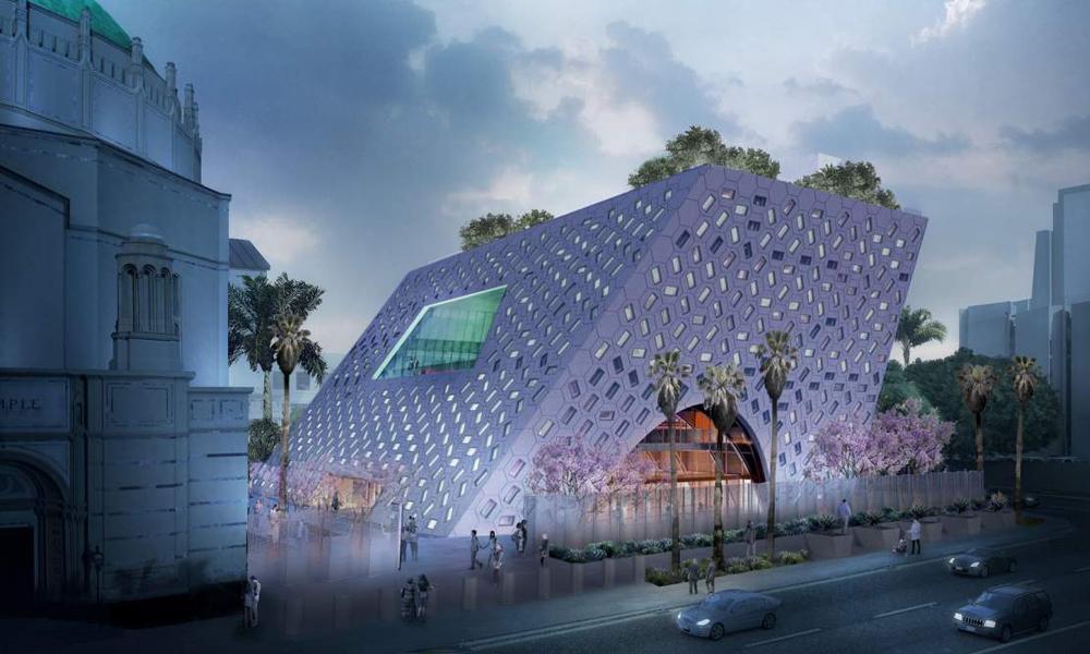 Oma Se Prepara Para Inaugurar El Audrey Irmas Pavilion En