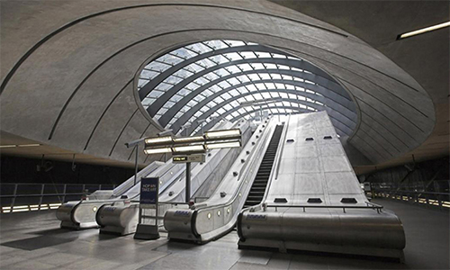 Estación Canary Wharf, Londres