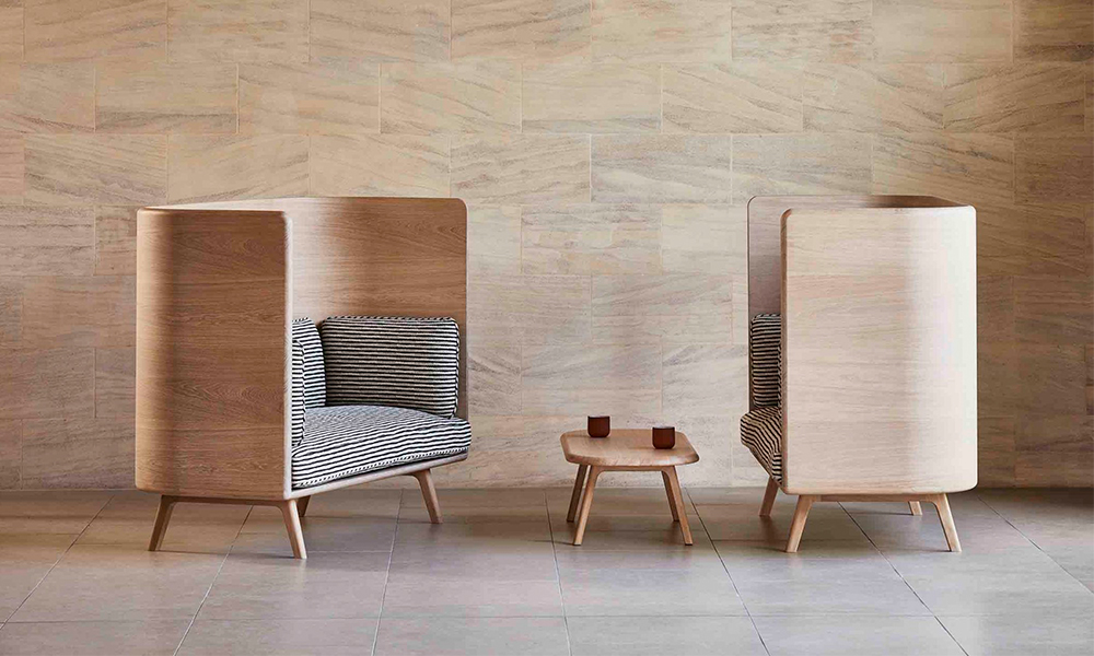 Sage Sofa & Bench by Benchmark + David Rockwell